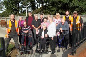 CGC Paisley helps senior citizen